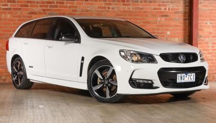 2016  Holden Commodore Sv6 Black Sportwagon
