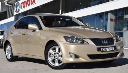 2007  Lexus IS Is250 Prestige Sedan