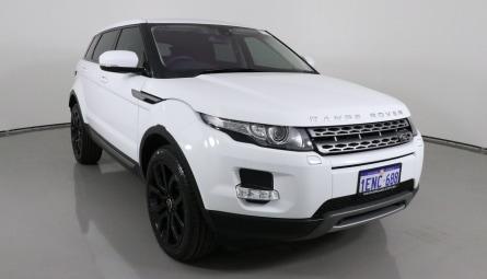 2013 Land Rover Range Rover Evoque eD4 Pure Wagon