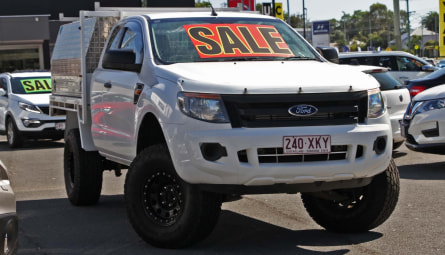 2012 Ford Ranger XL Cab Chassis Super Cab