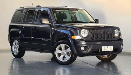 2013  Jeep Patriot Limited Wagon