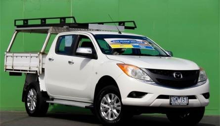 2012 Mazda BT-50 GT Utility Dual Cab