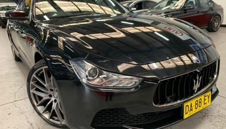2017 Maserati GhibliSedan