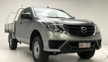2018 Mazda BT-50 XT Cab Chassis Dual Cab