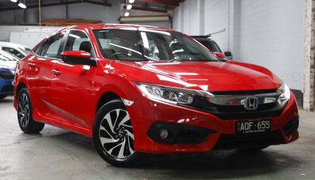 2017 Honda Civic VTi-S Sedan