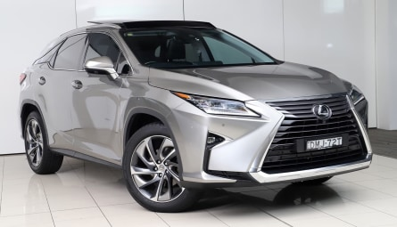 2017 Lexus RX RX200t Sports Luxury Wagon