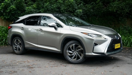 2017 Lexus RX RX450h Sports Luxury Wagon