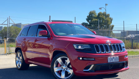2015 Jeep Grand Cherokee SRT Wagon