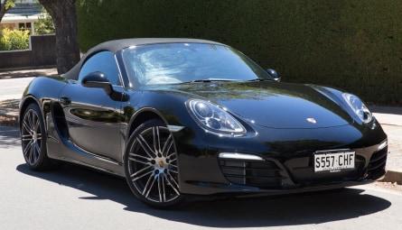 2015 Porsche Boxster Black Edition Convertible