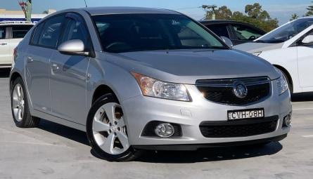 2014  Holden Cruze Equipe Hatchback