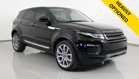 2016 Land Rover Range Rover Evoque TD4 180 HSE Wagon