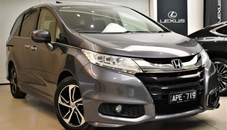 2017  Honda Odyssey Vti-l Wagon