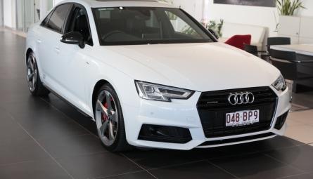 2018  Audi A4 Black Edition Sedan