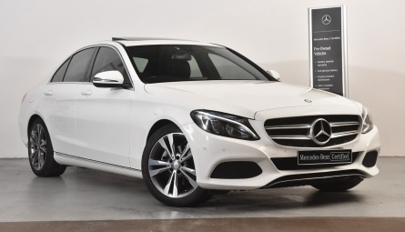 2017 Mercedes-Benz C-Class C200 Sedan