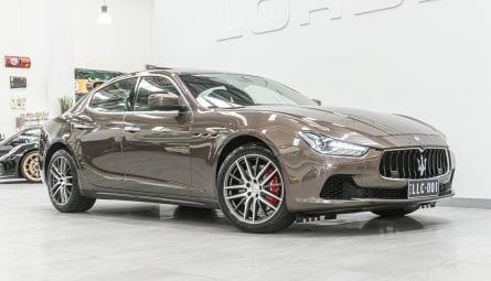 2014  Maserati Ghibli S Sedan