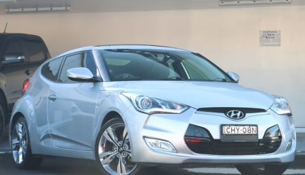 2012  Hyundai Veloster + Coupe