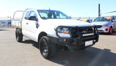 2018 Ford Ranger XL Cab Chassis Super Cab