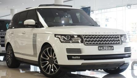 2016  Land Rover Range Rover V8sc Autobiography Wagon