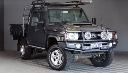 2017  Toyota Landcruiser Gxl Cab Chassis Double Cab