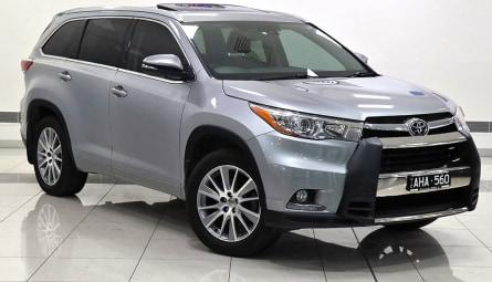 2015  Toyota Kluger Grande Wagon