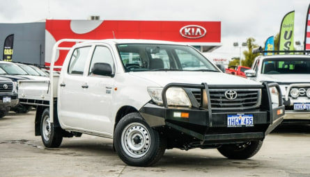 2013  Toyota Hilux Workmate Utility Double Cab