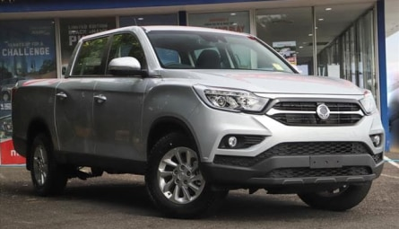 2020 SsangYong Musso ELX Utility Crew Cab