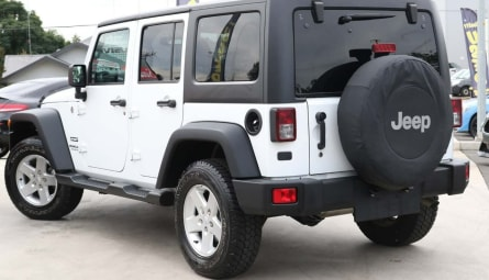 2016 Jeep Wrangler Unlimited Sport Softtop