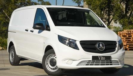 2021 Mercedes-Benz Vito 111CDI Van