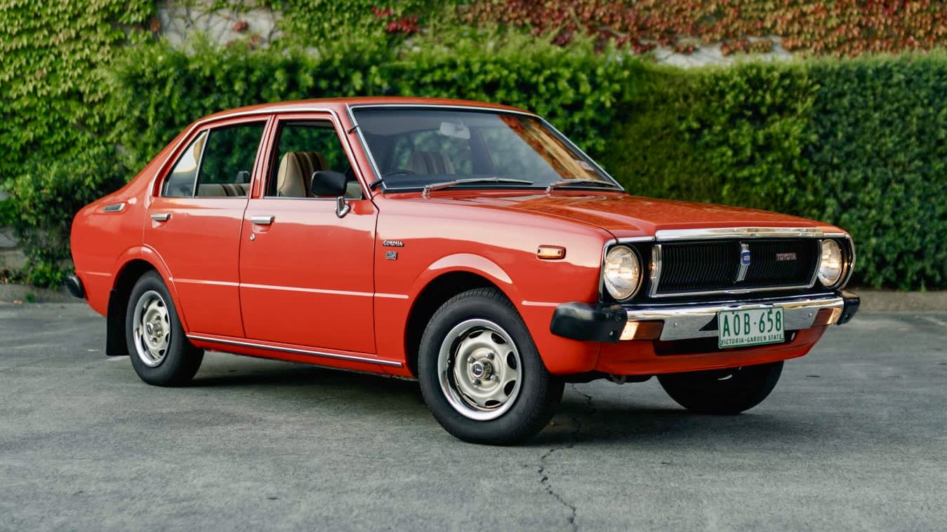 1979 Toyota Corolla sells for $12,750 at auction