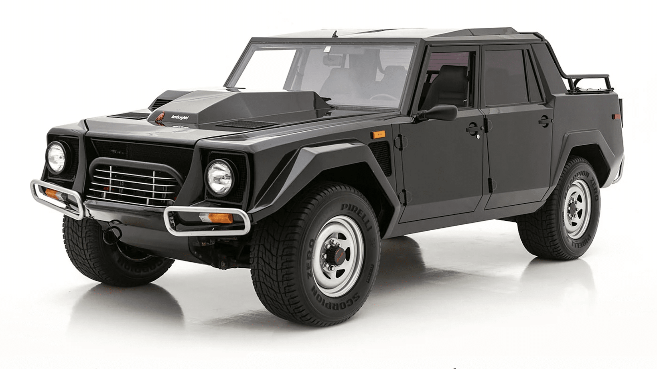 Lamborghini LM002 V12 off-roader listed for sale