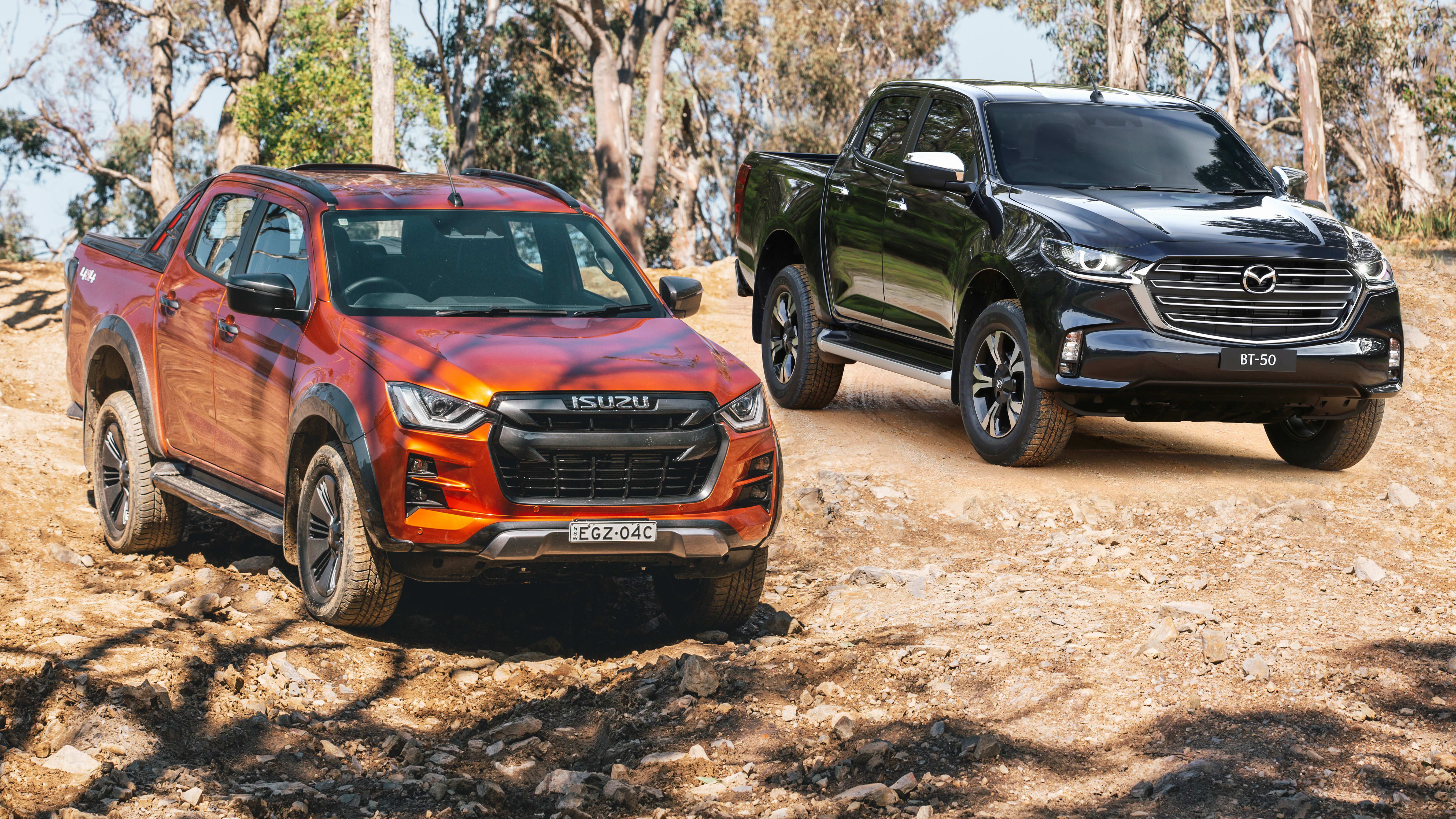 Isuzu D-Max and Mazda BT-50 continue strong run of sales