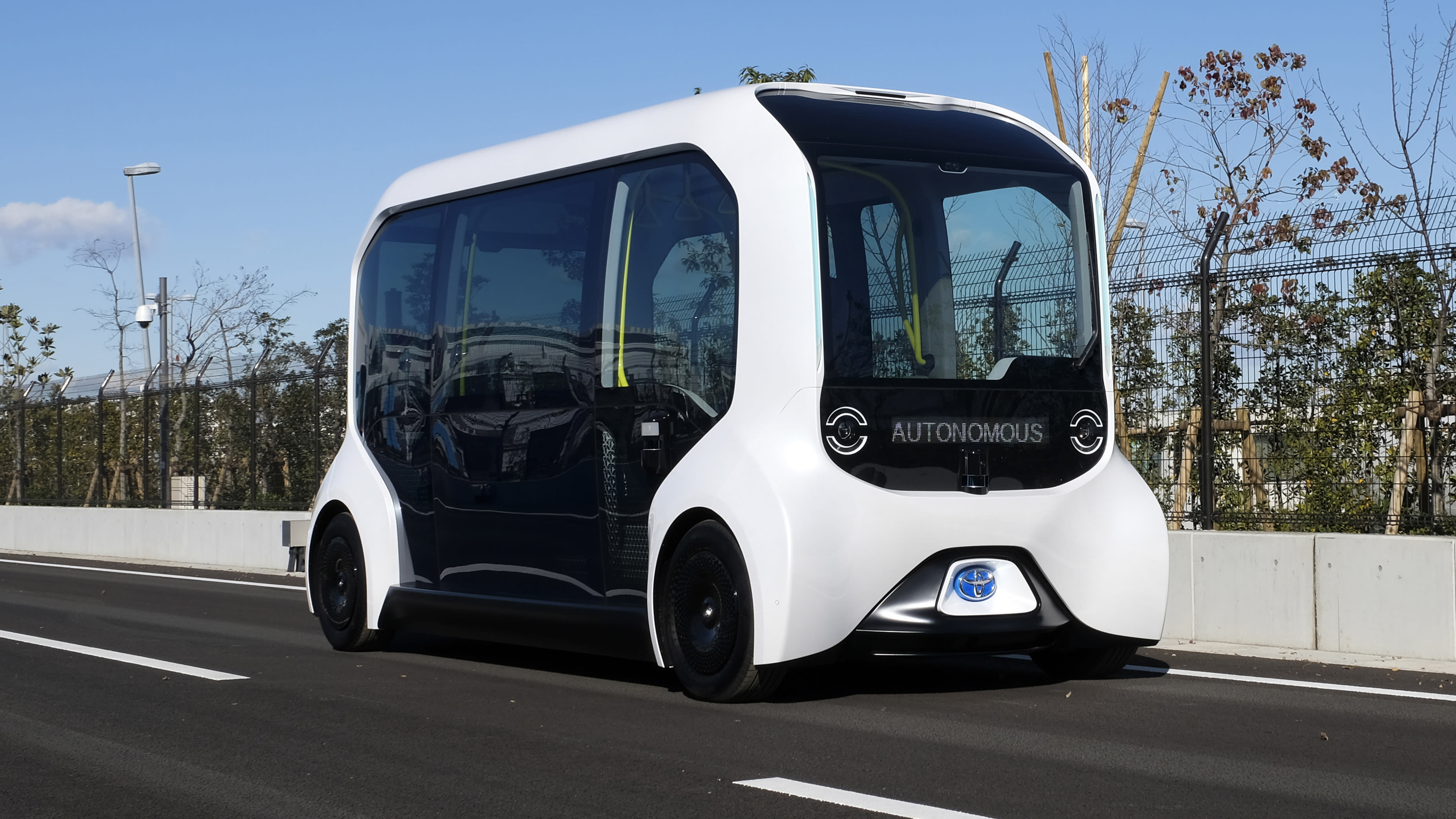 """Toyota e-Palette autonomous vehicles to be rolled out """"within the next few years"""""""
