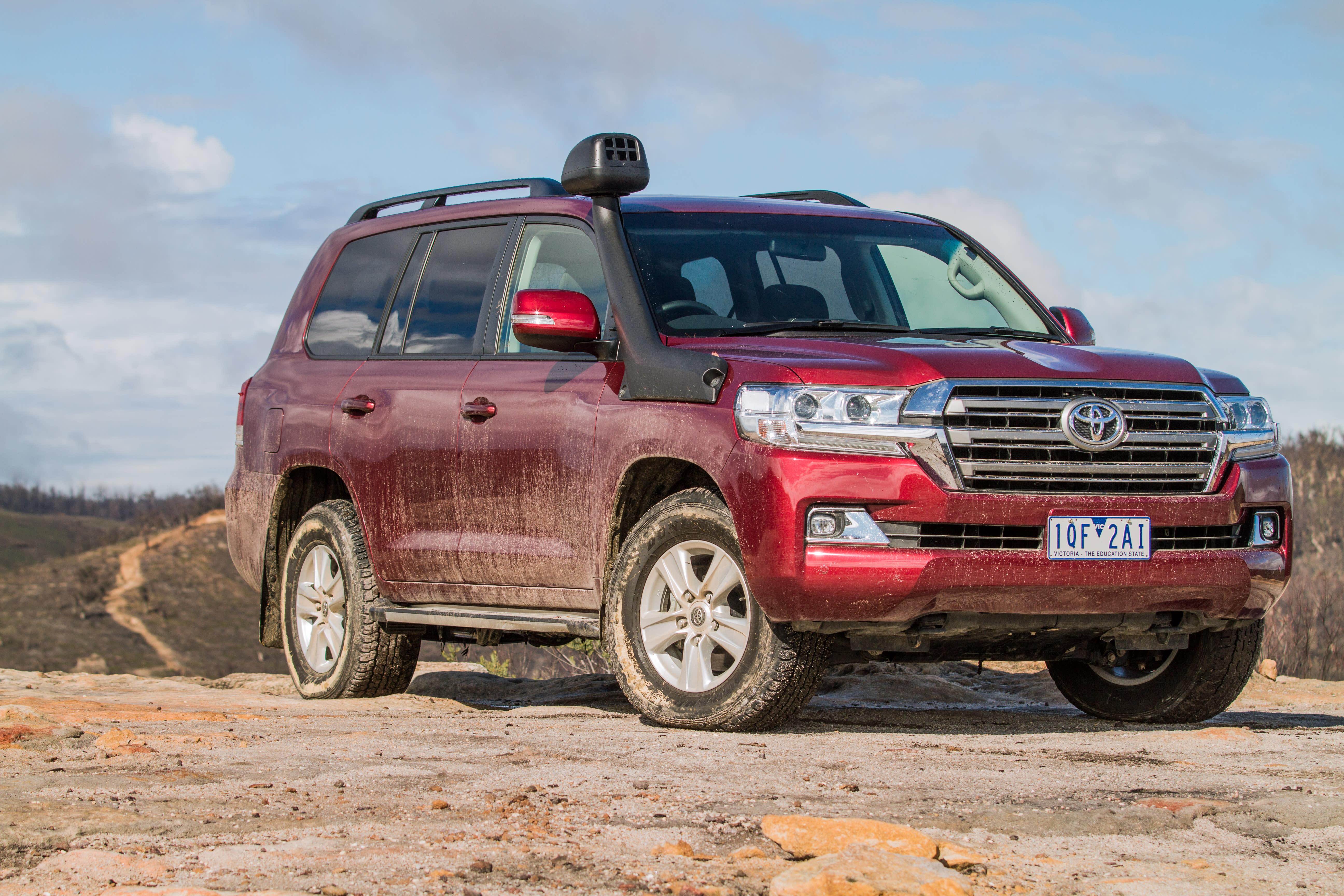 Toyota LandCruiser showroom blackout until 300 Series arrives