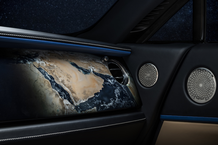The Rolls-Royce inspired by star-gazers