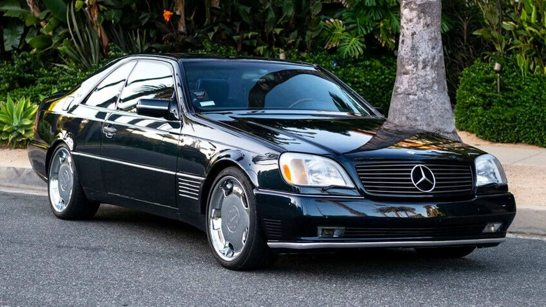 Michael Jordan's old Mercedes-Benz S600 fetched an impressive price at auction