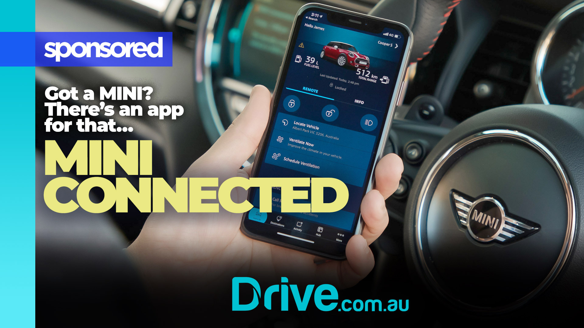 Video: MINI Connected App, communicate with your Mini from anywhere!