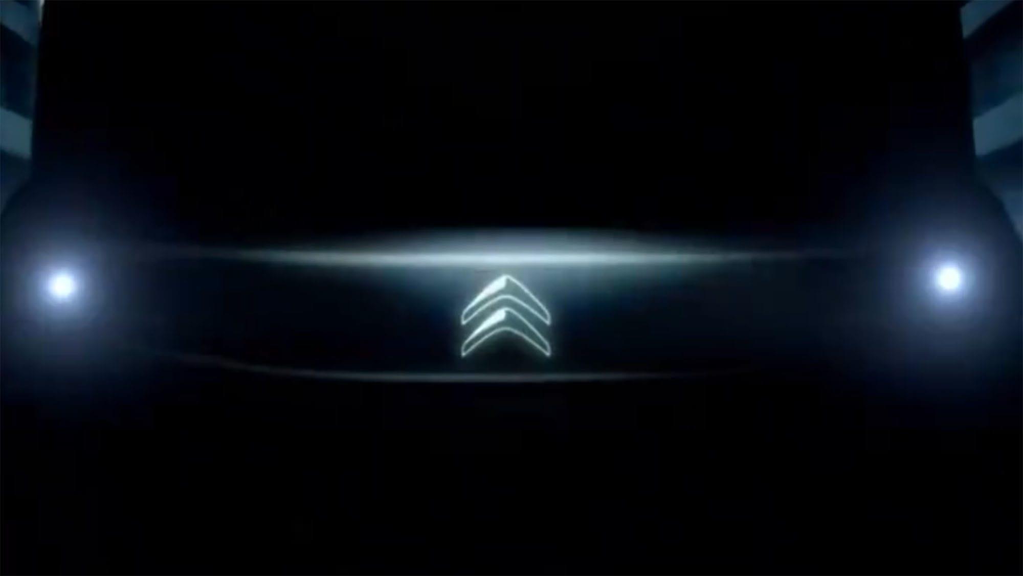 Citroen teases all-electric car, plans EV trek across Sahara