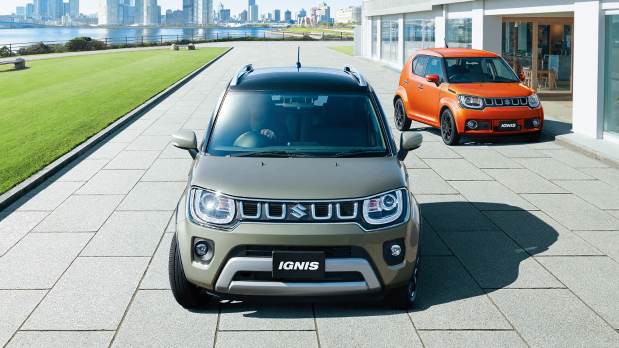 2021 Suzuki Ignis facelift unveiled in Japan