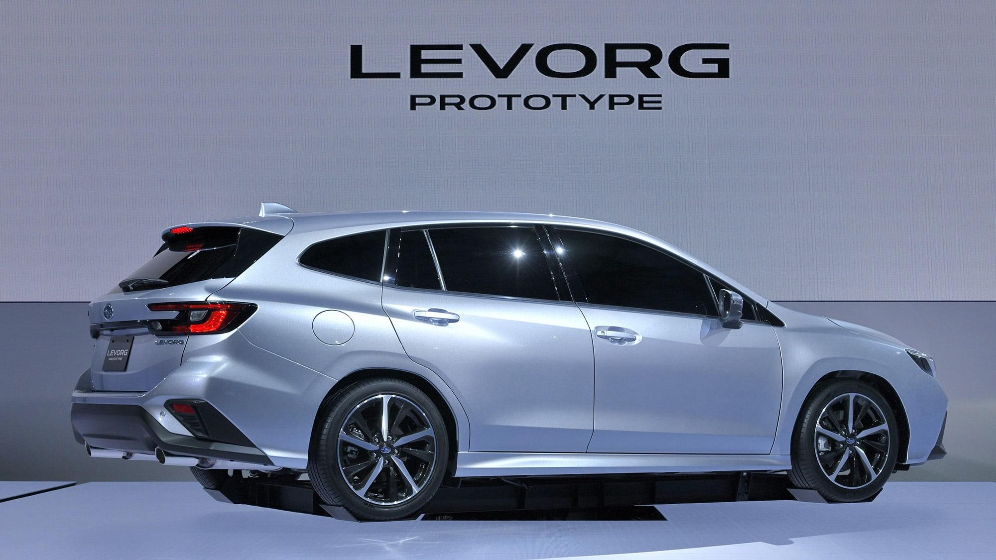Subaru Levorg Prototype revealed: Production model coming in 2020