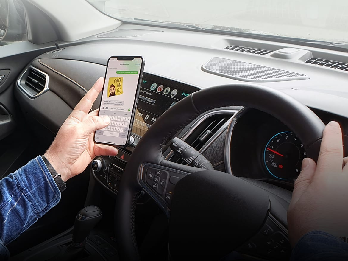 Texting, eating, watching movies: Australian drivers reveal their dirty habits