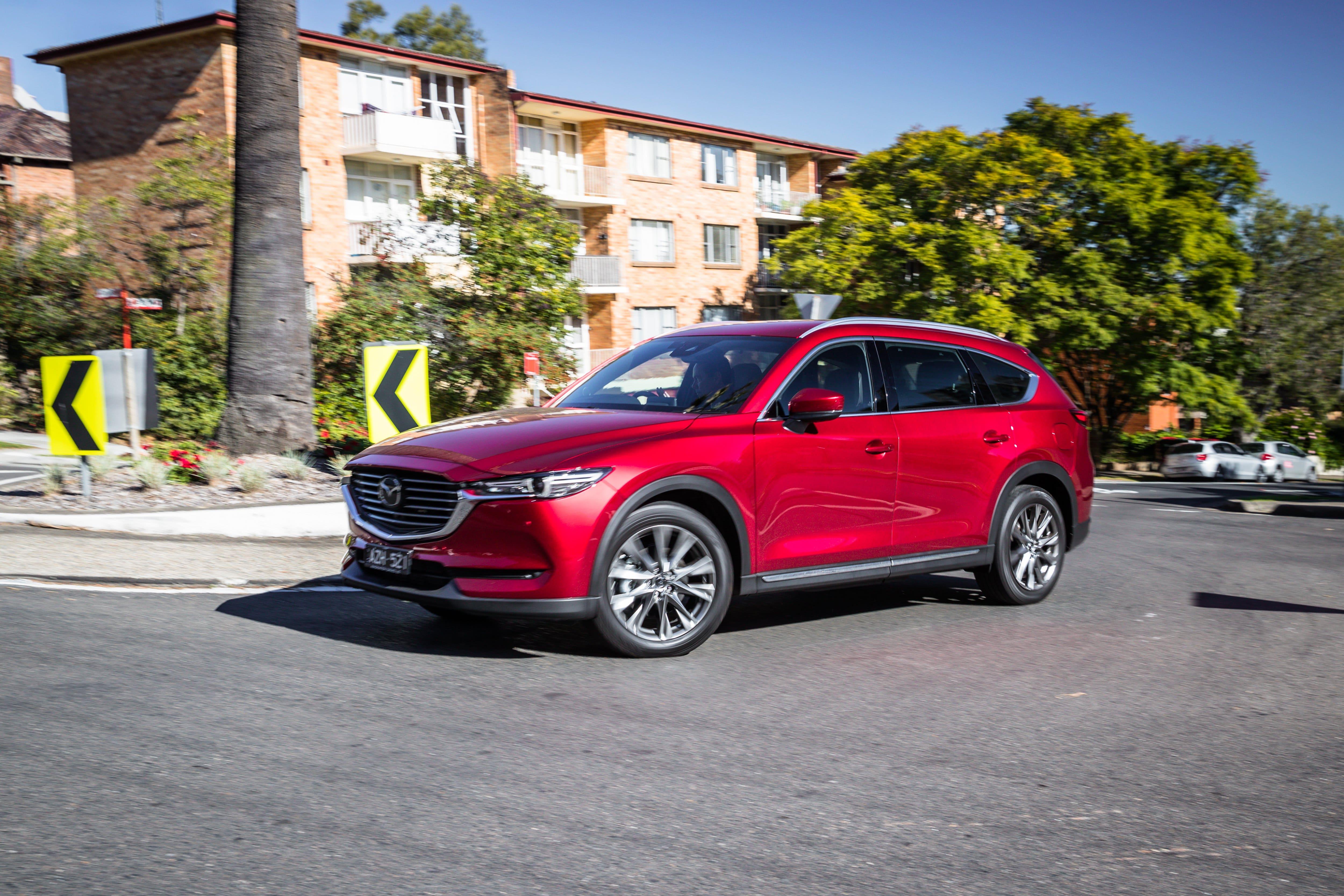 2019 Mazda CX-8 Asaki review