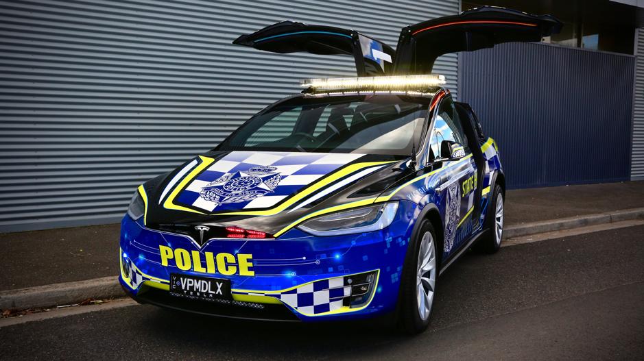 Tesla Model X joins Victorian Highway Patrol fleet