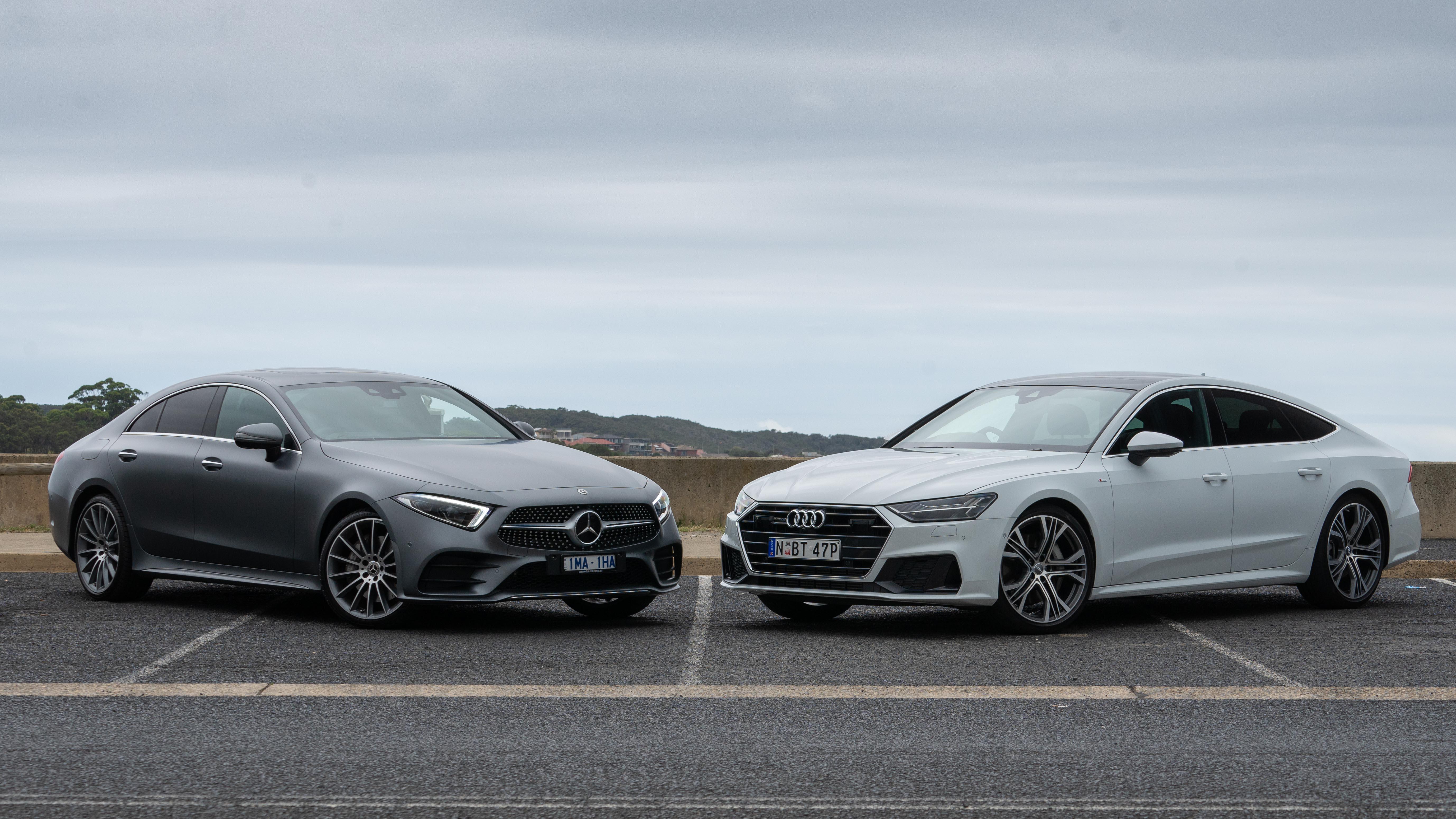 Head to head: 2019 Mercedes-Benz CLS 450 vs Audi A7 55 TFSI