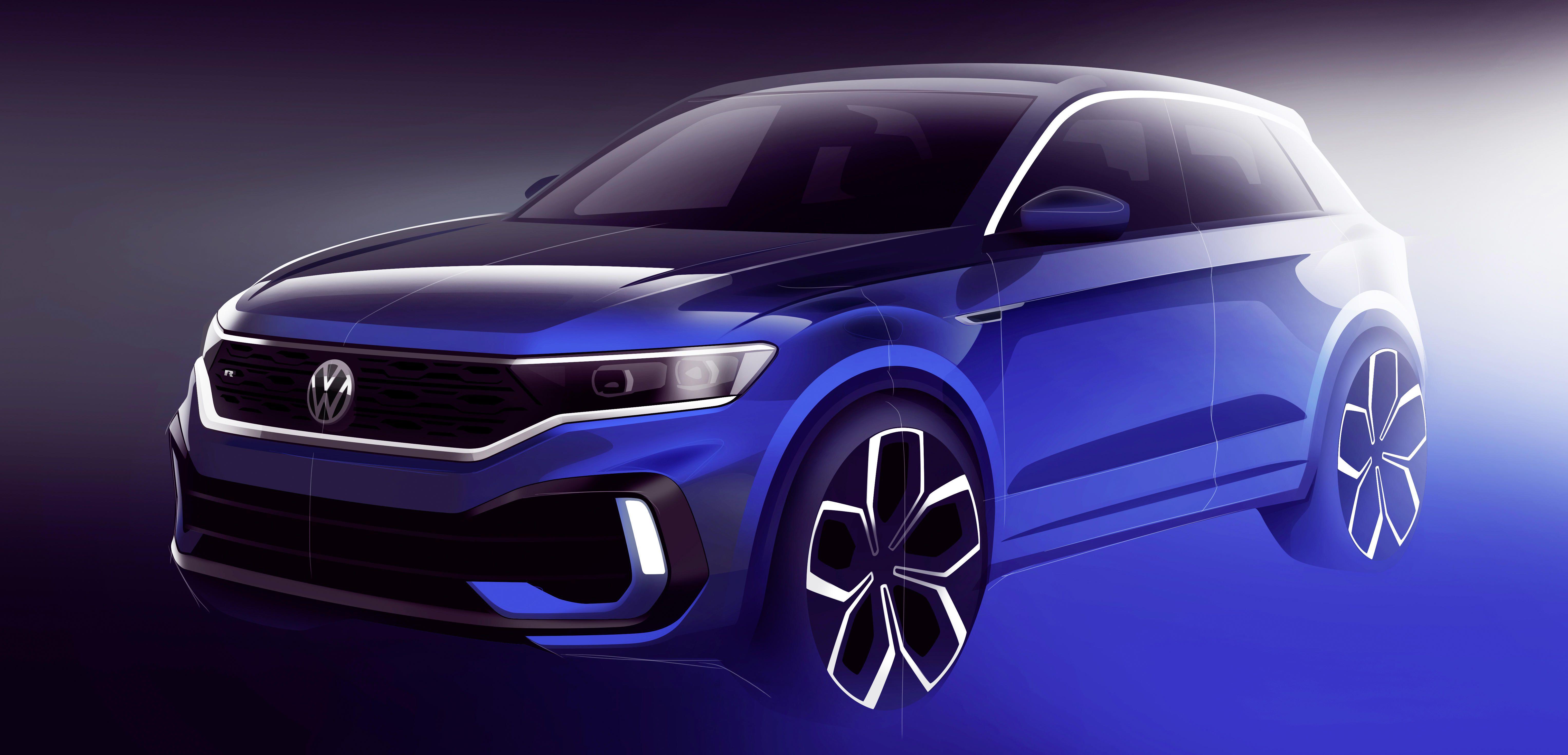 Volkswagen T-Roc R teased