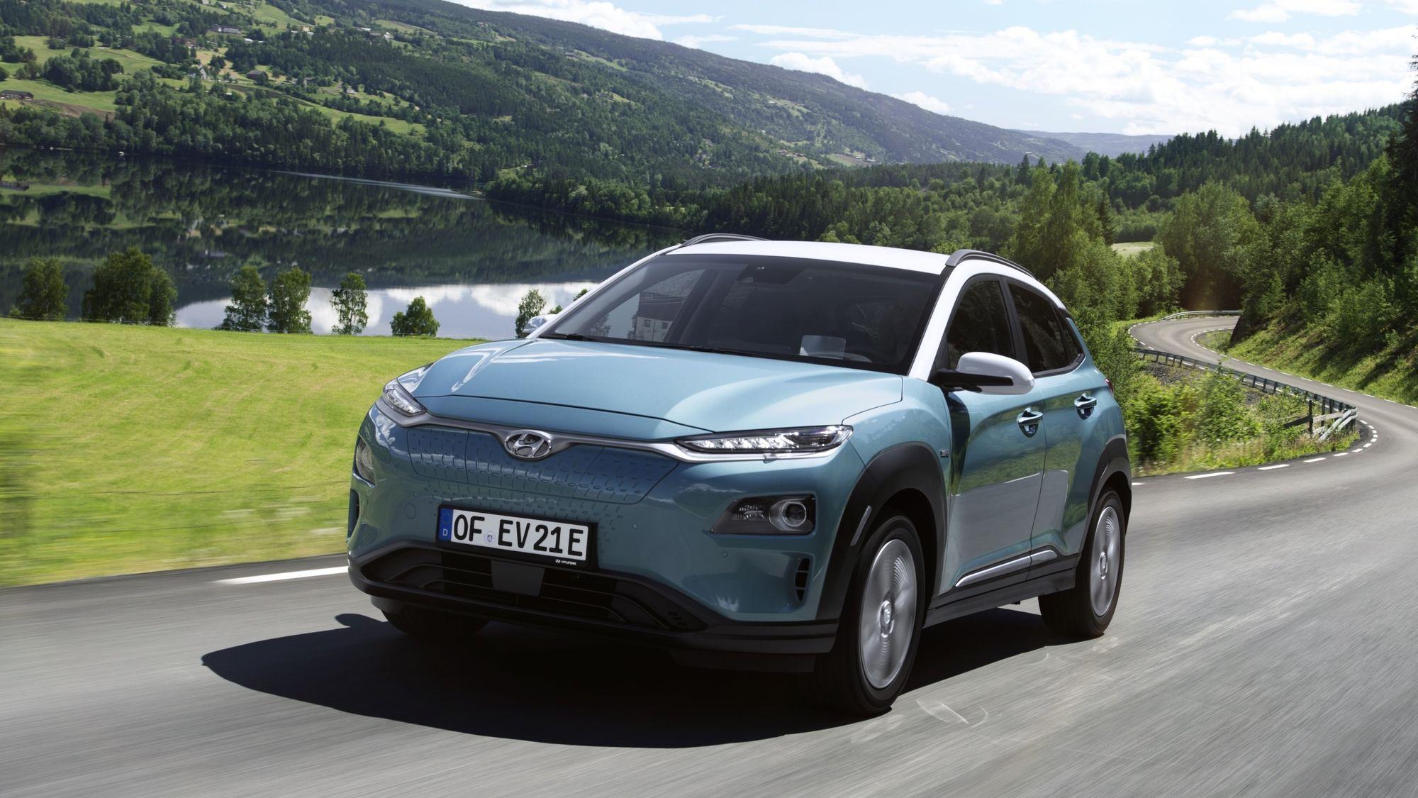 Hyundai reduces range of Kona EV