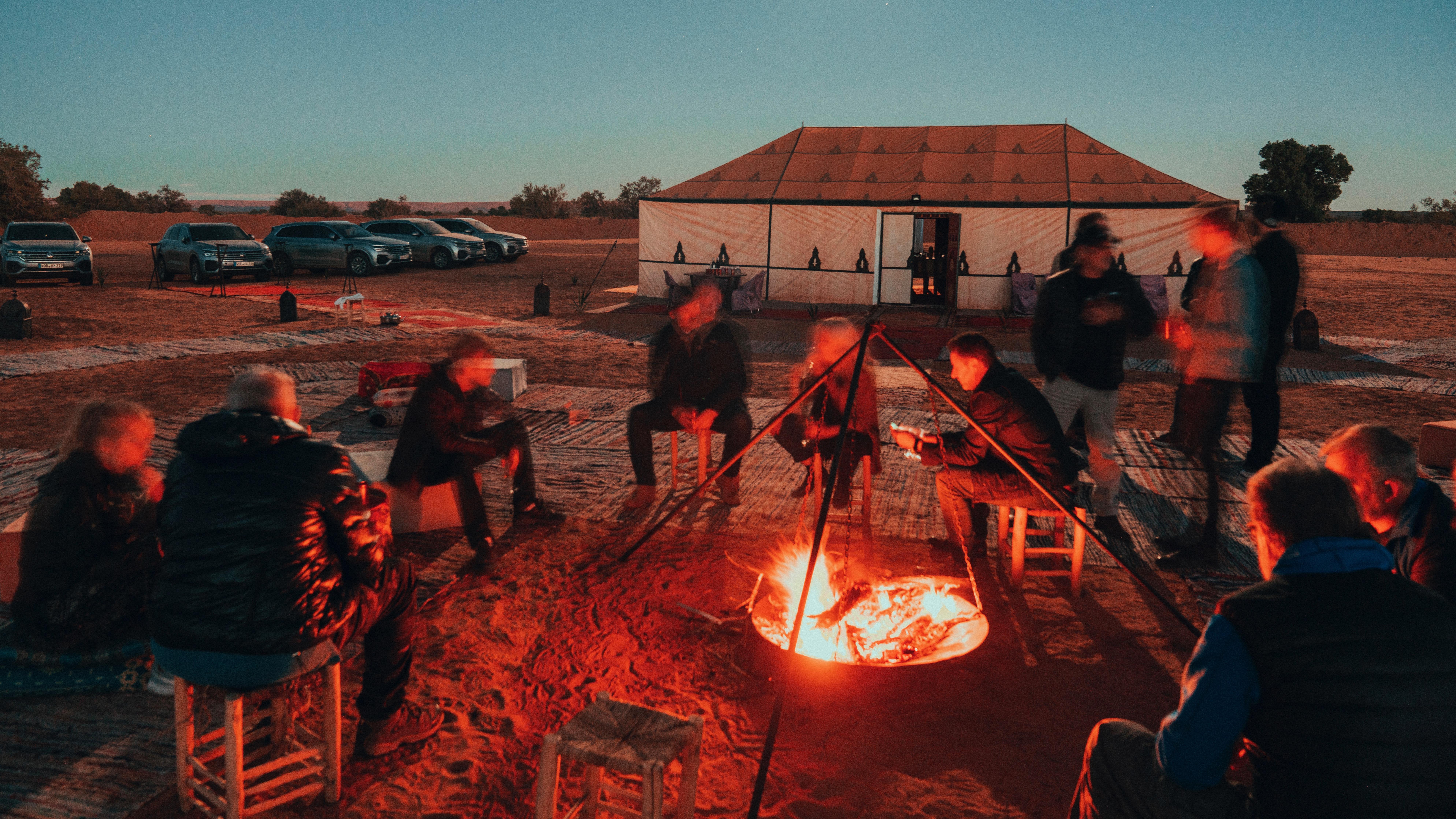 Touareg desert camp