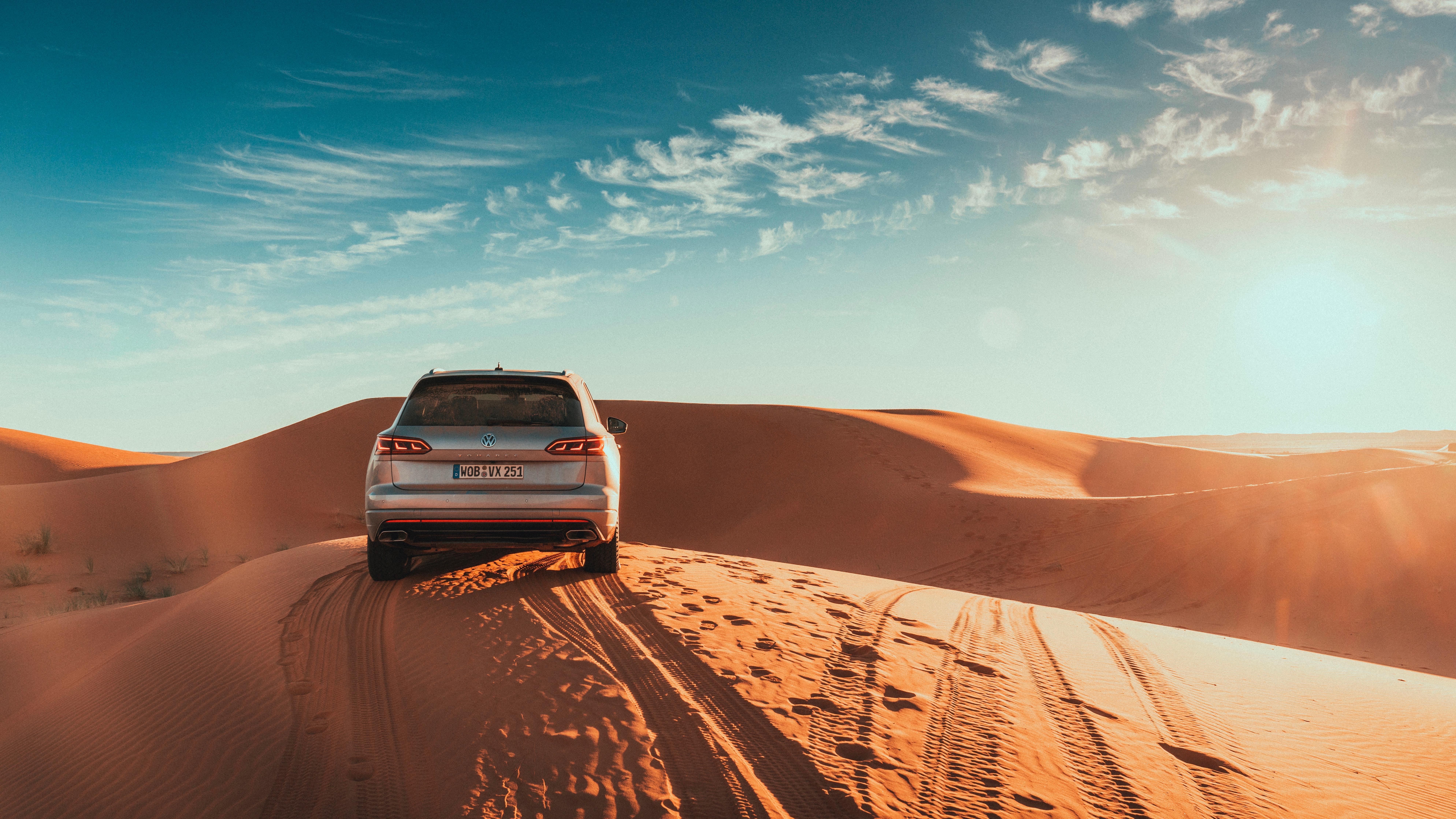 Touareg sand rear