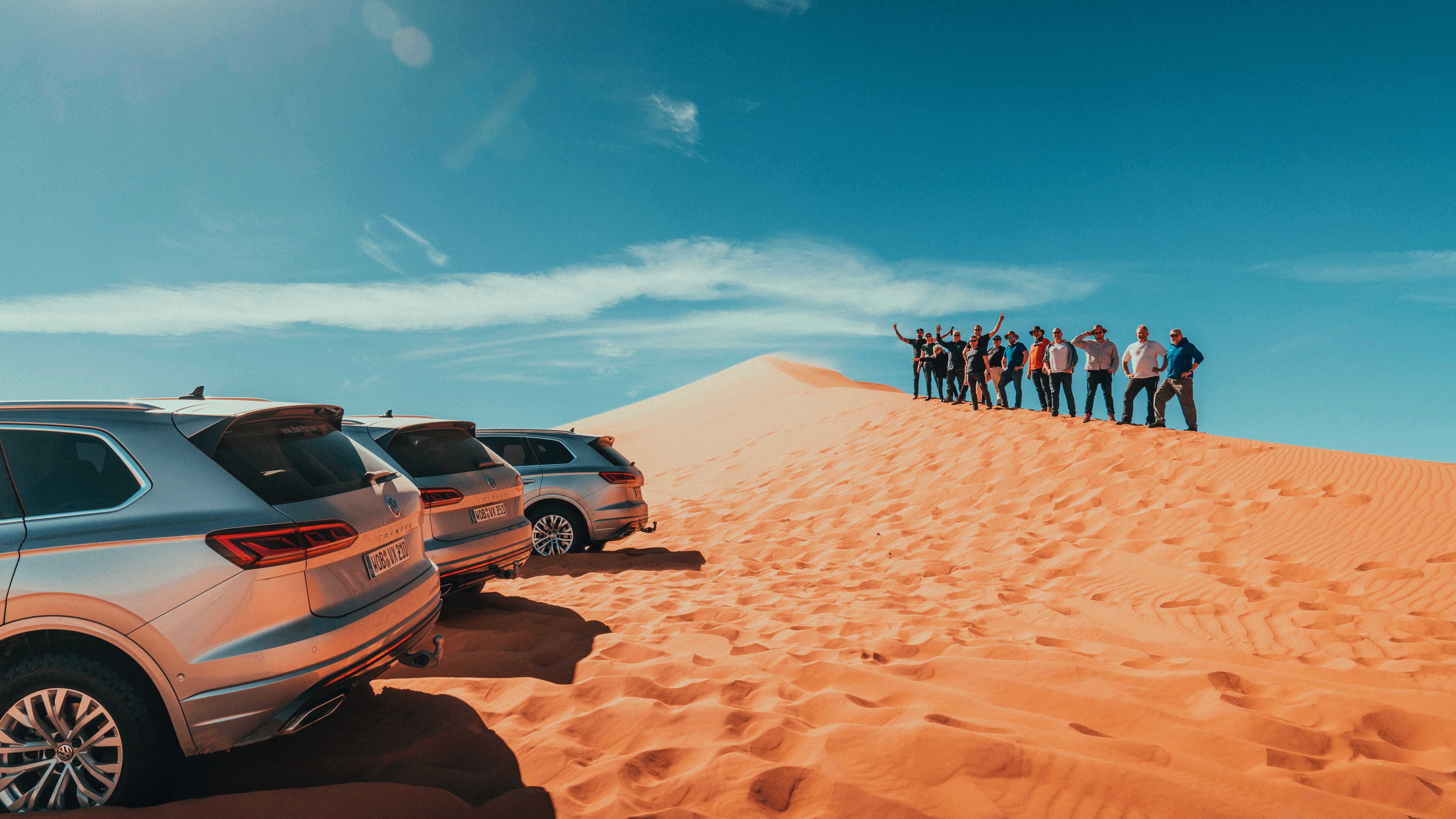 Touareg crew sand hill