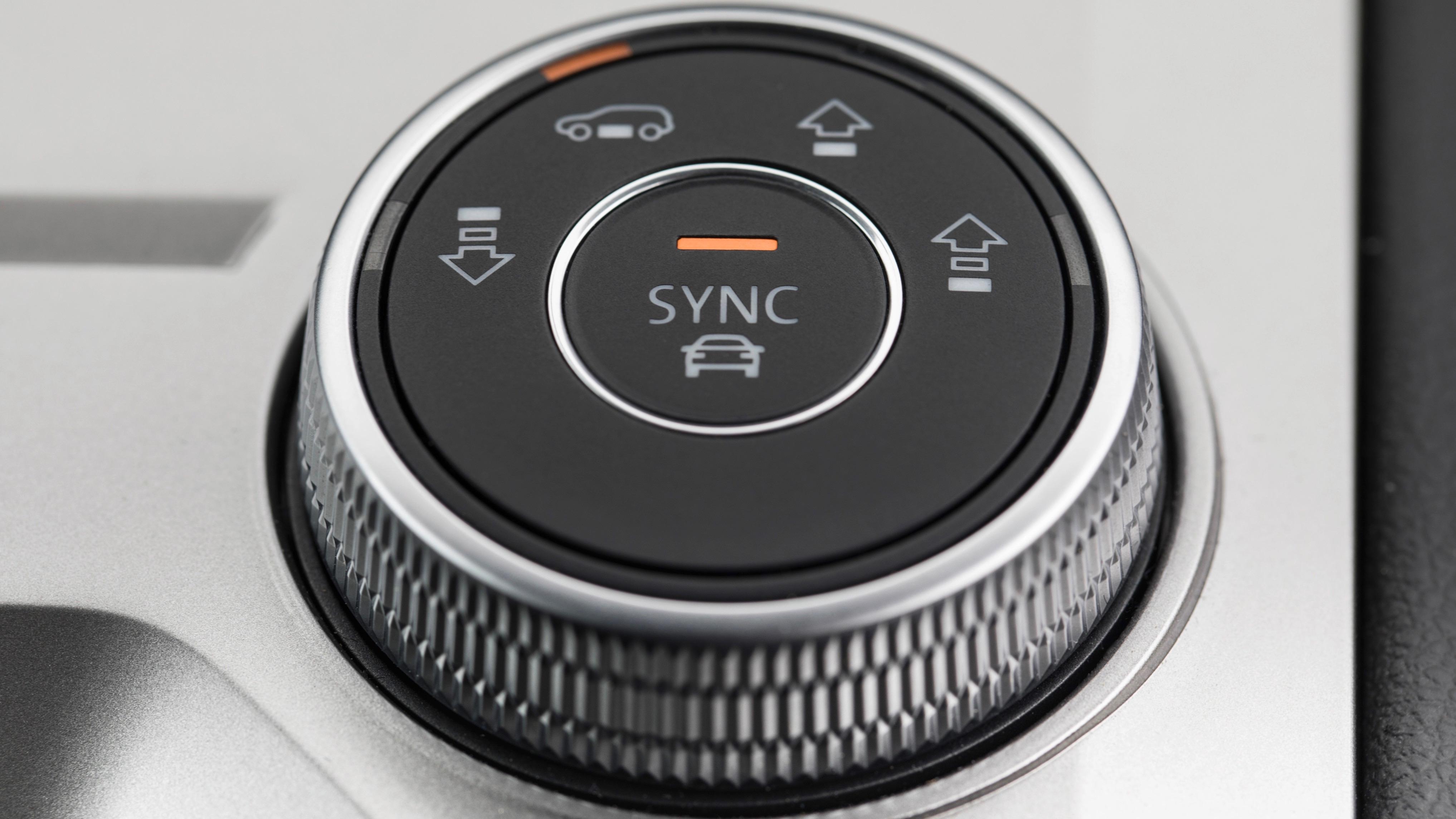 VW Touareg drive mode dial