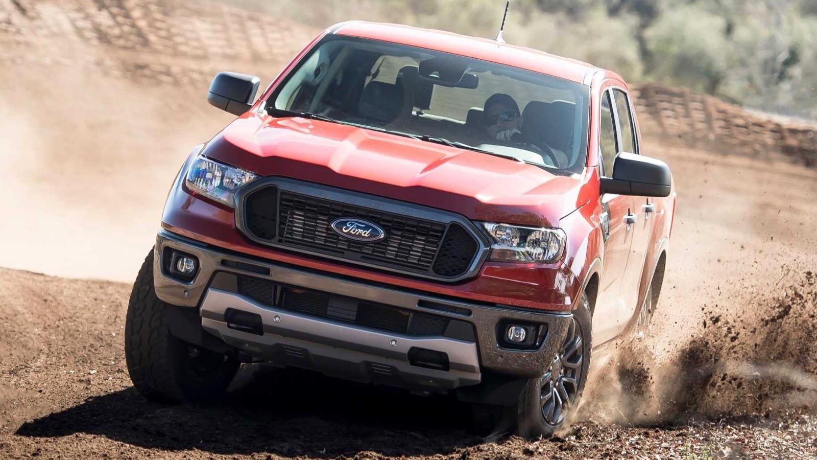 Australian developed Ford Ranger hits the US